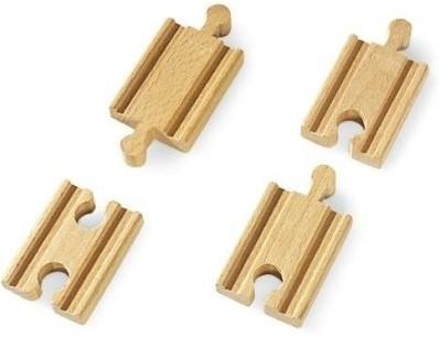 BRIO Mini rails droits - 33333