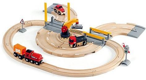 BRIO Circuit transfert de marchandises Rail / Route - 33208