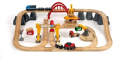 BRIO Circuit grues et chargements - 33097