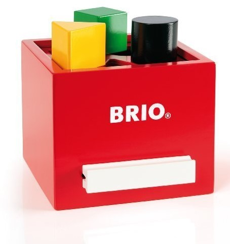BRIO Boîte à formes rouge - 30148