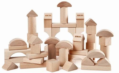 BRIO Blocs de construction naturels 50 pièces - 30113