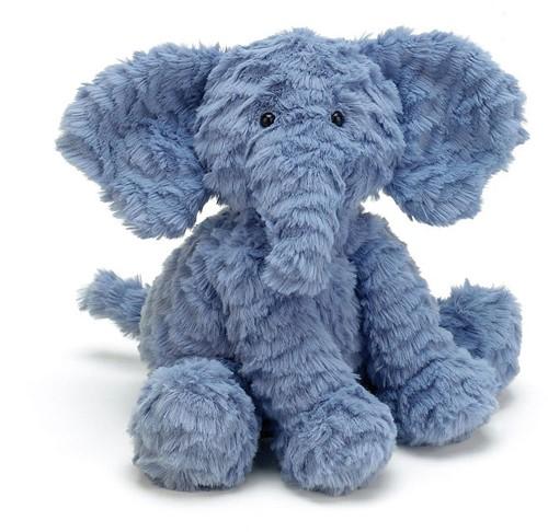 Jellycat Fuddlewuddle Éléphant Medium - 23cm