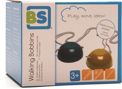 BS Toys - Bobines en bois qui avancent