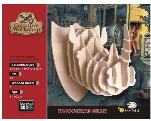 Eureka Gepetto's Workshop - Rinoceros Head