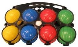 Engelhart Jeu de boule 8 plastic ballen