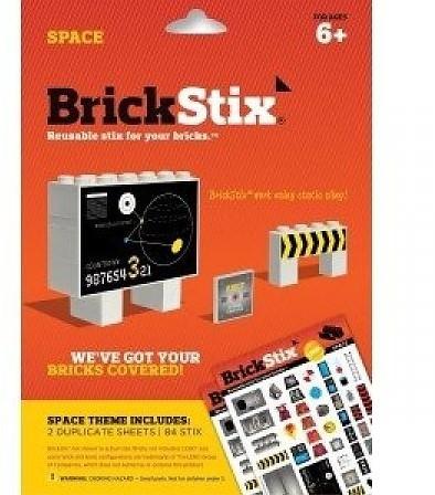 Planet Happy  BrickStix Stickers: Spac