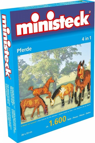 Ministeck Horses 4in1 XL Box - ca. 1.600 pieces
