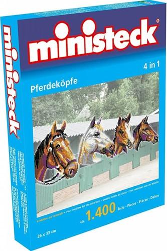 Ministeck - tête de cheval 4-in-1 1400 pcs