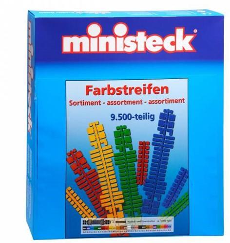 Ministeck -  strip couleurs 9500 pcs