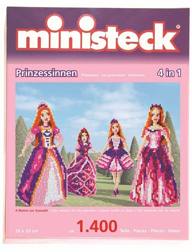 Ministeck - Princesses 4-in-1 1400 pcs