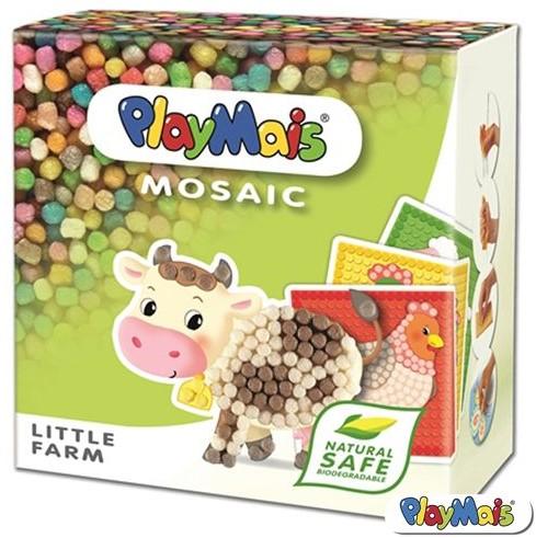 PlayMais  knutselspullen Mosaic Little Farm