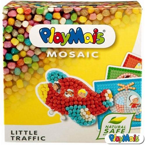 PlayMais  knutselspullen Mosaic Little traffic