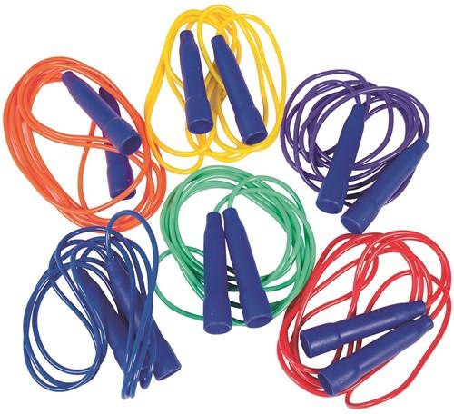 Megaform Jump ropes 270cm,  Set of 6 colors