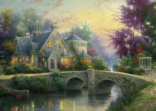 Schmidt Lamplight Manor, 3000 stukjes