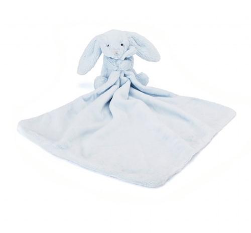Jellycat Doudou Lapin bleu - 34 cm