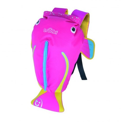 Trunki - Sac de natation paddlepak medium poisson Coral - rose
