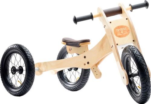 Trybike en bois Draisienne 4 - 1 marron