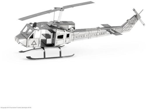 Metal Earth  constructie speelgoed Helicopter UH-1 Huey